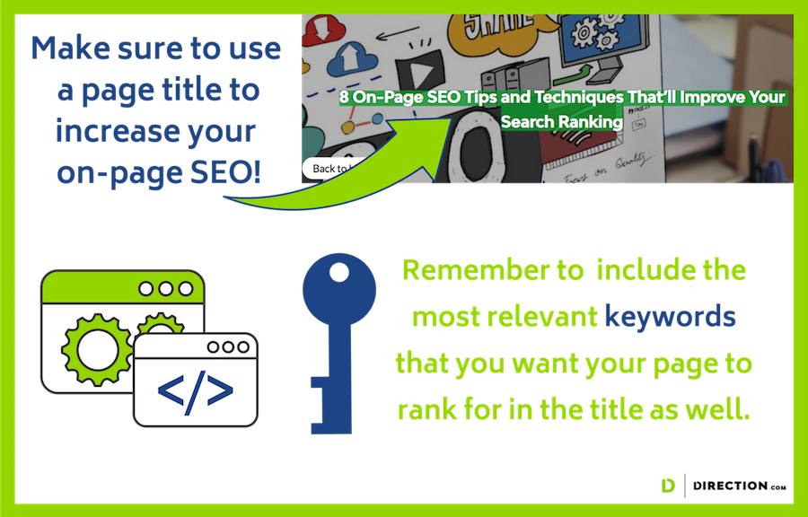 Seo tips for on page seo