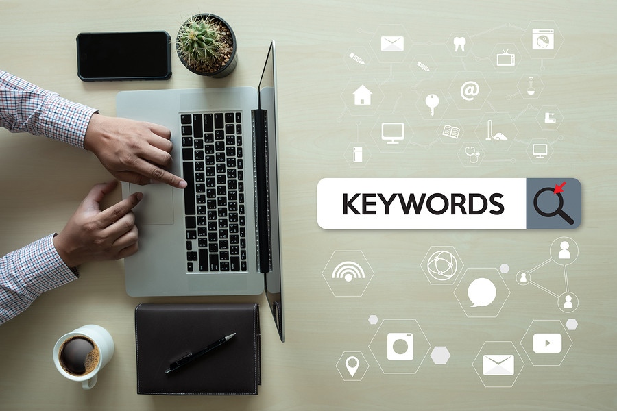 keywords and searches for user experience