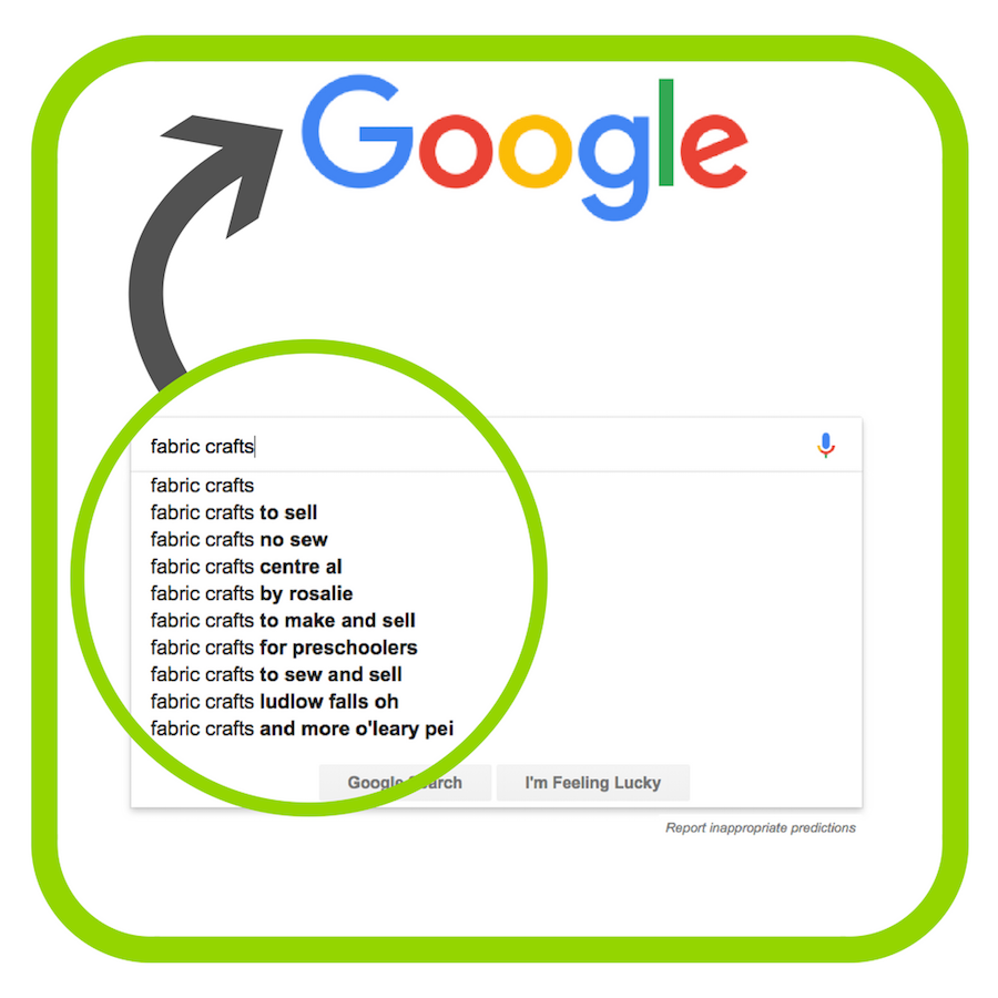 example of search terms