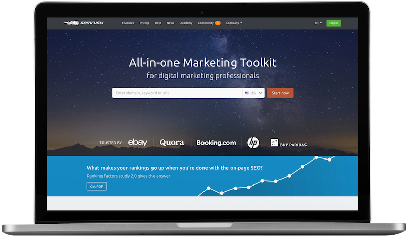 all in one marketing toolkit semrush