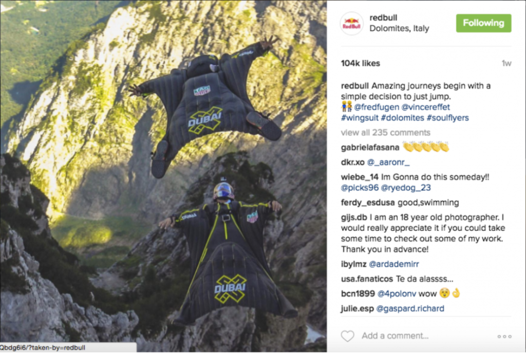 Red Bull Through the Lens of Instagram 4
