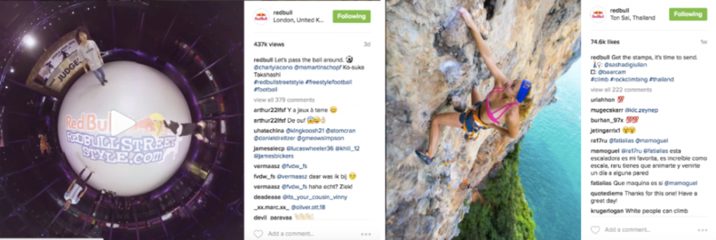 Red Bull Through the Lens of Instagram 3