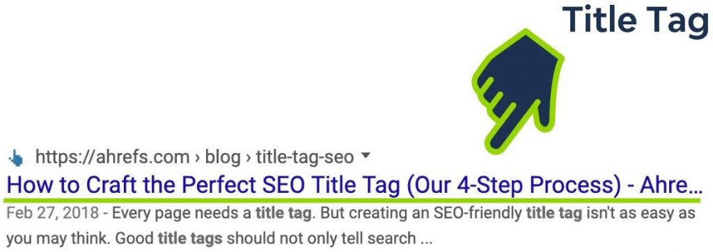 how to understand title tags in a website