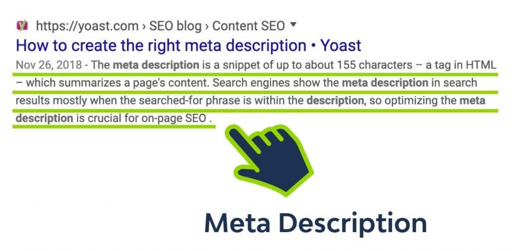 How to understand what a meta description is