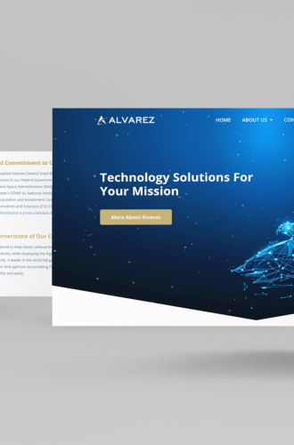 Alvarez IT website redesign