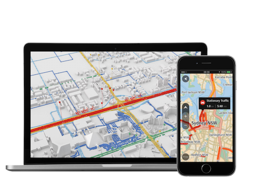 TomTom GPS Direction Local Listing